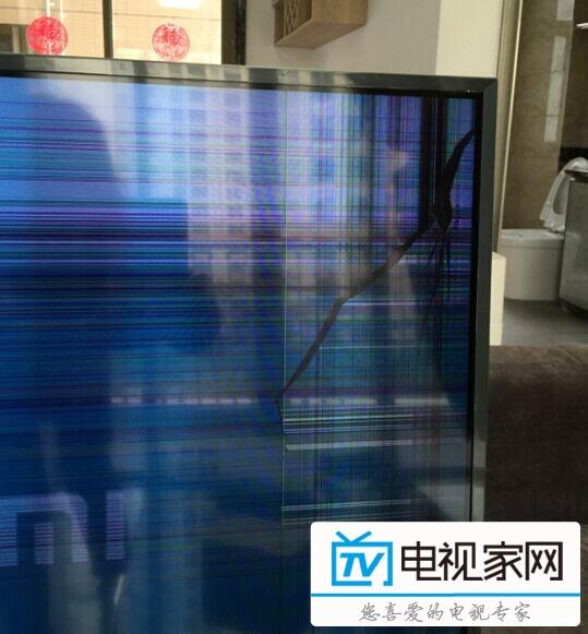小米电视55寸分体电视屏幕爆裂,谨慎购买! - 小