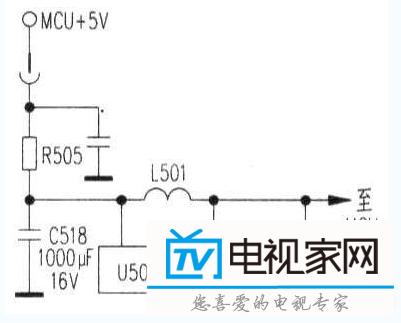 c518(loooμf/16v),查相关资料得知,lm2596s为电源稳压校正电路.