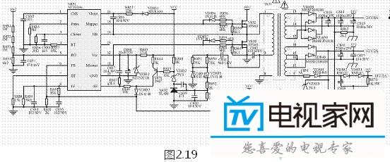 海信tlm40v68p液晶电源板(1673板)电路原理分析 .